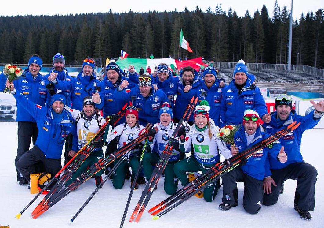 Biathlon: dieci azzurri convocati per Hochfilzen