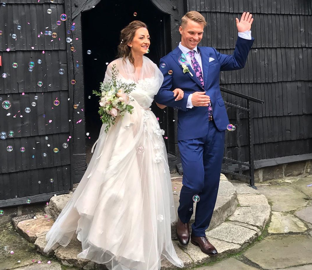 Biathlon: Monika Hojnisz e Maciej Starega festeggiano le nozze