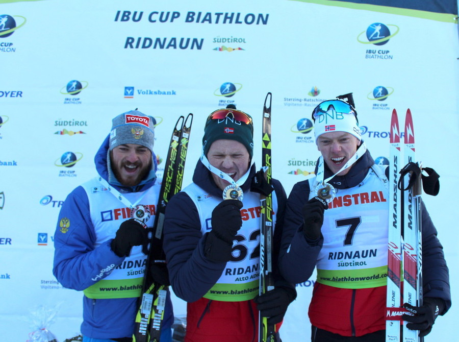 Biathlon: Johannes Dale fa saltare il banco nella Sprint della Val Ridanna