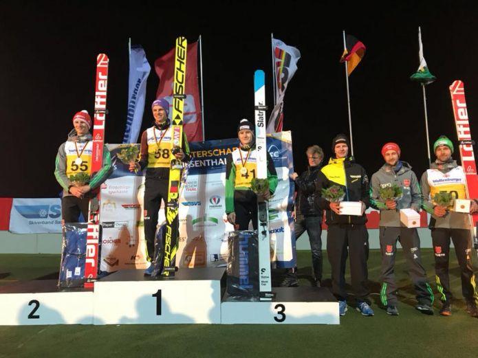 Andreas Wellinger trionfa ai campionati tedeschi