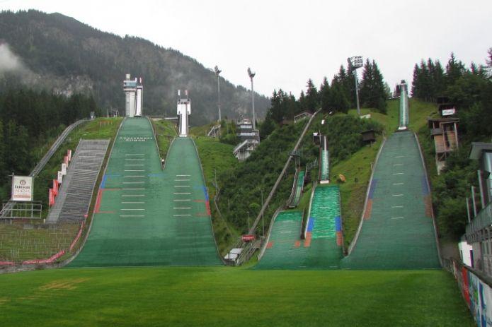 Gli azzurri di Coppa del Mondo in ritiro a Oberstdorf