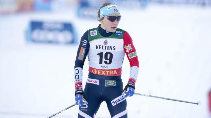 Maiken Caspersen Falla out per le gare di Lillehammer