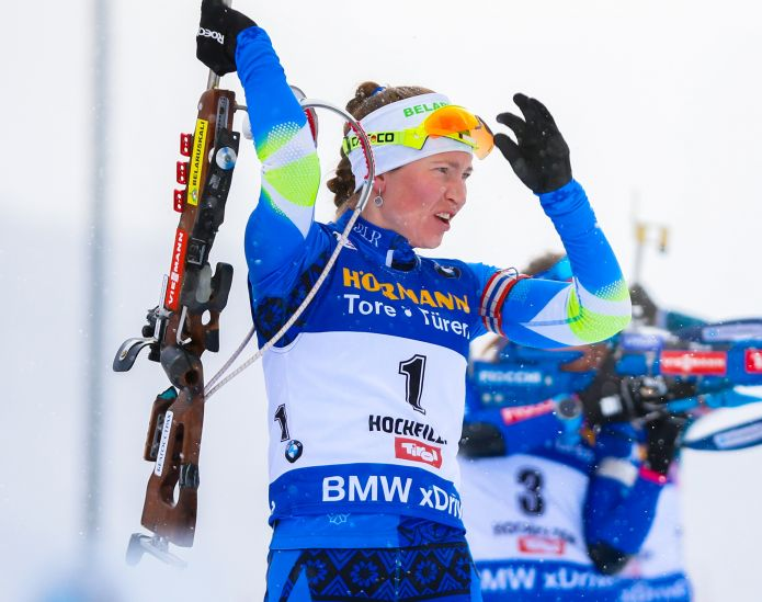 Darya Domracheva annuncia il ritiro