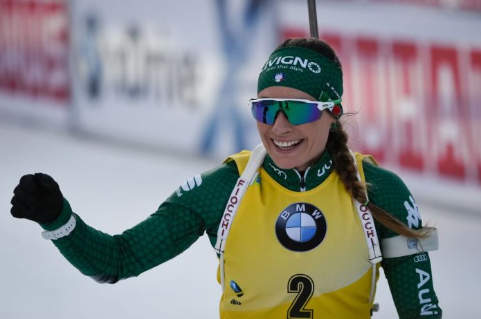Dorothea Wierer dopo la vittoria nella Sprint: 'Nell'Inseguimento ci divertiremo'