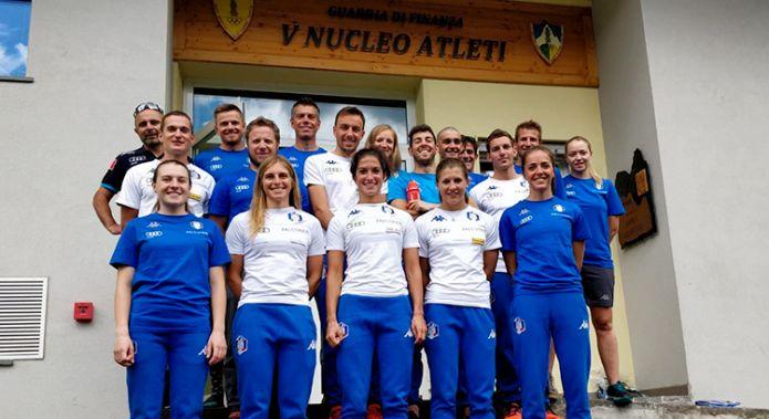 Raduno in Toscana per i fondisti azzurri