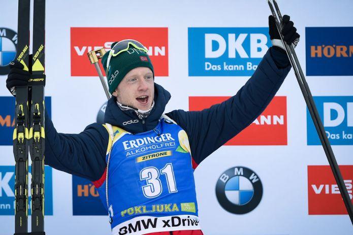 Biathlon: Johannes Bø domina la Sprint maschile di Pokljuka