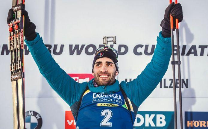 Biathlon: La classifica di Coppa del Mondo maschile. Martin Fourcade sale al secondo posto