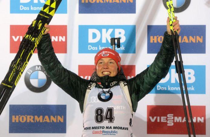 Biathlon: Laura Dahlmeier rinuncia alla tappa di Oberhof
