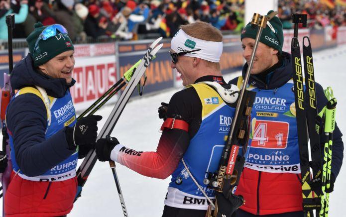 Biathlon: Norvegia senza rivali nella Staffetta Maschile di Canmore