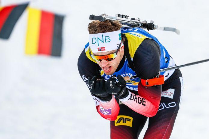 Biathlon: Tarjei Bø fa doppietta nell'Inseguimento, Yurlova conquista l'oro tra le donne