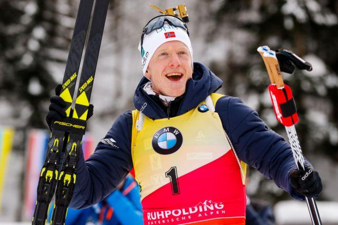 Biathlon: strapotere di Johannes Bø nella Sprint Maschile di Anterselva