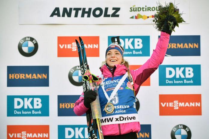 Biathlon: Marketa Davidova sorprende tutte nella Sprint di Anterselva