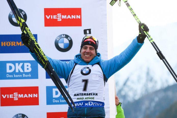 Biathlon: Fillon Maillet centra la prima vittoria in carriera nella Mass di Anterselva