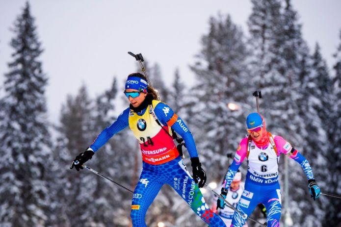 Biathlon: Inseguimento Femminile LIVE! Wierer e Vittozzi provano la rimonta