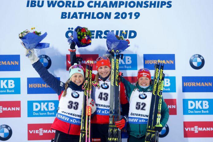 Biathlon: Anastasiya Kuzmina è campionessa del mondo nella Sprint Femminile