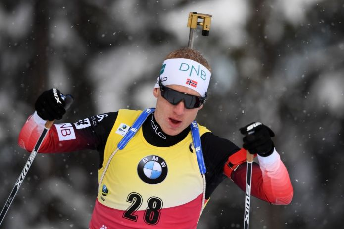 Biathlon: Johannes Bø imbattibile, è oro nella Sprint iridata