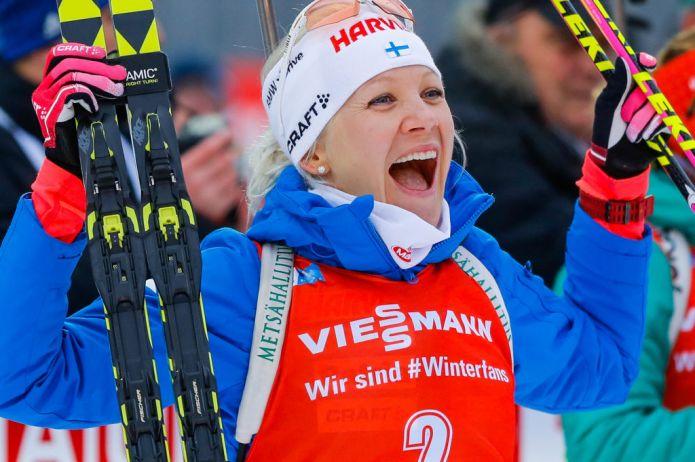 Kaisa Mäkäräinen è la regina del biathlon, Domracheva fa sua la Mass di Tyumen
