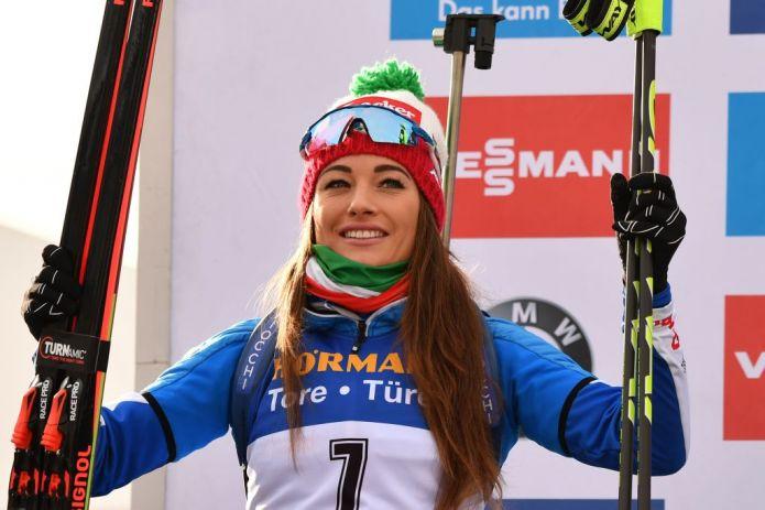 La felicità di Wierer dopo il secondo posto nell'Inseguimento:'Oggi ero sicura di me stessa'