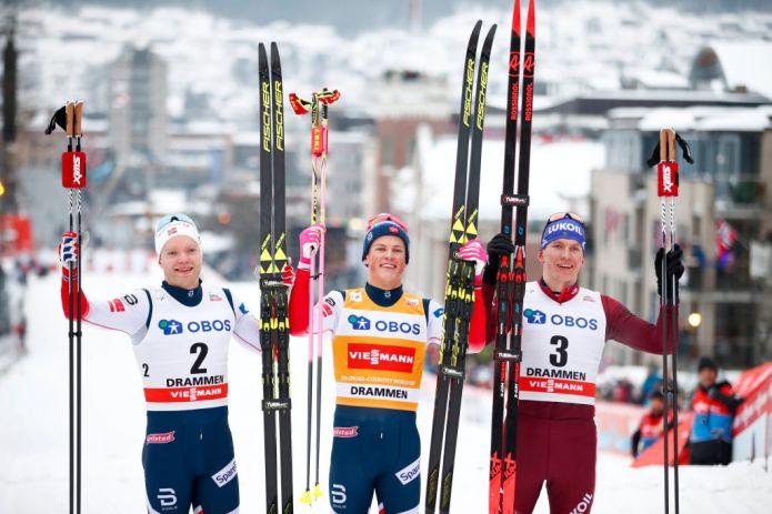 Prova di forza di Klæbo nella Sprint in classico di Drammen