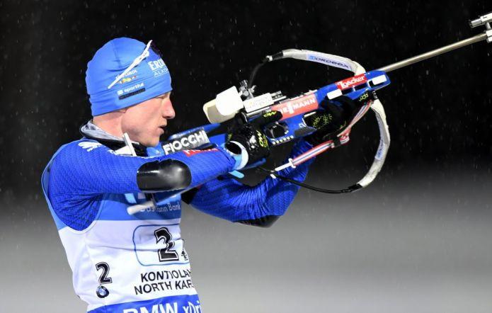 Magnifico Lukas Hofer, è secondo nell'Inseguimento maschile di Oslo