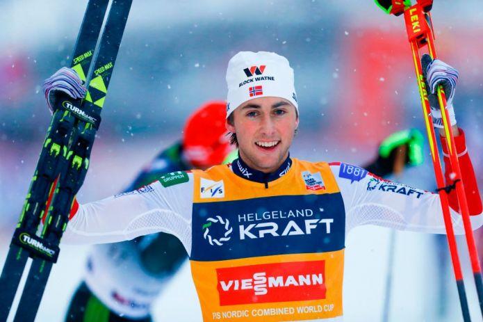 Tripletta di Jarl Magnus Riiber a Lillehammer