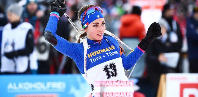 Lisa Vittozzi fantastica nell'Inseguimento di Le Grand Bornand, è terza dietro Dahlmeier e Kuzmina