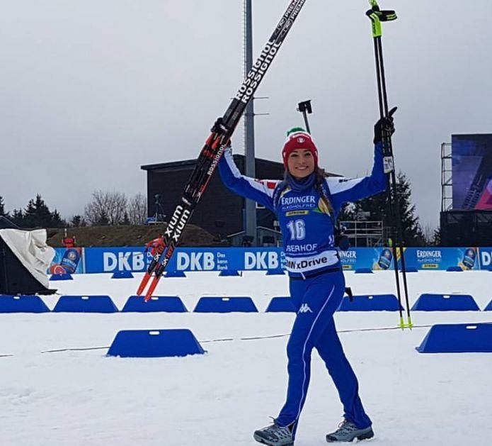 Dorothea Wierer strepitosa nell'Inseguimento di Oberhof, è seconda dietro a Kuzmina