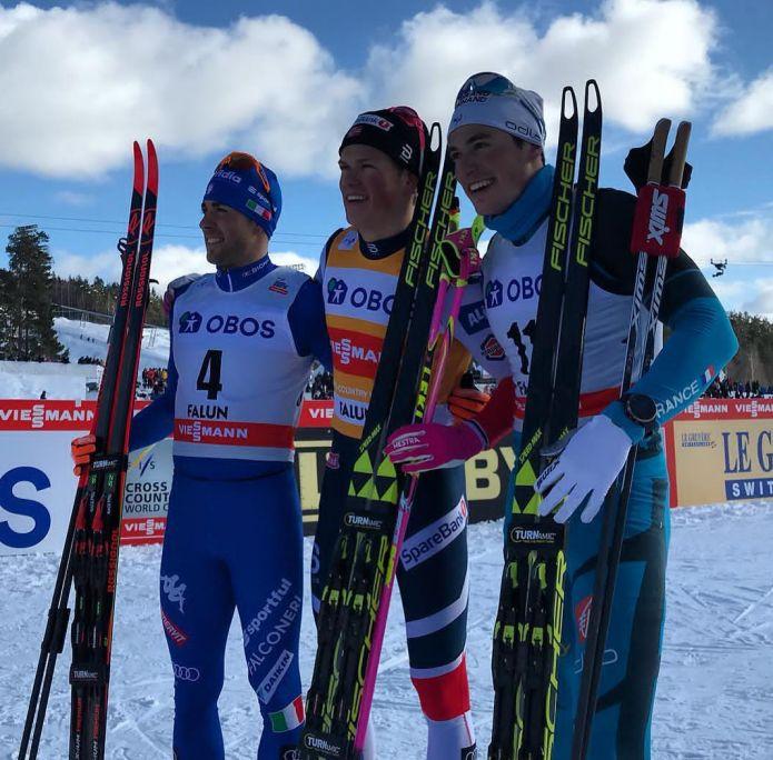 Klæbo devastante a Falun, Pellegrino conquista la piazza d'onore di giornata e nella classifica Sprint