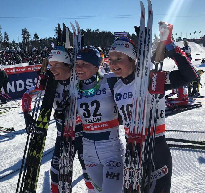 Pärmäkoski batte in volata Bjørgen nella 10 km in classico di Falun