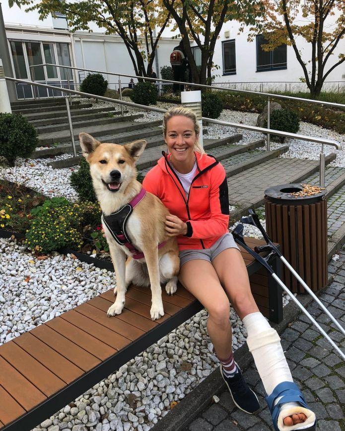 Maren Hammerschmidt si è operata alla caviglia
