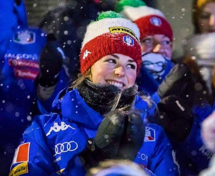 Biathlon: Irene Lardschneider 5a nell'Individuale femminile di Obertilliach