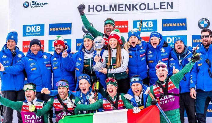 Dorothea Wierer:'Sono orgogliosa di quello che ho fatto e di far parte di una squadra così forte'