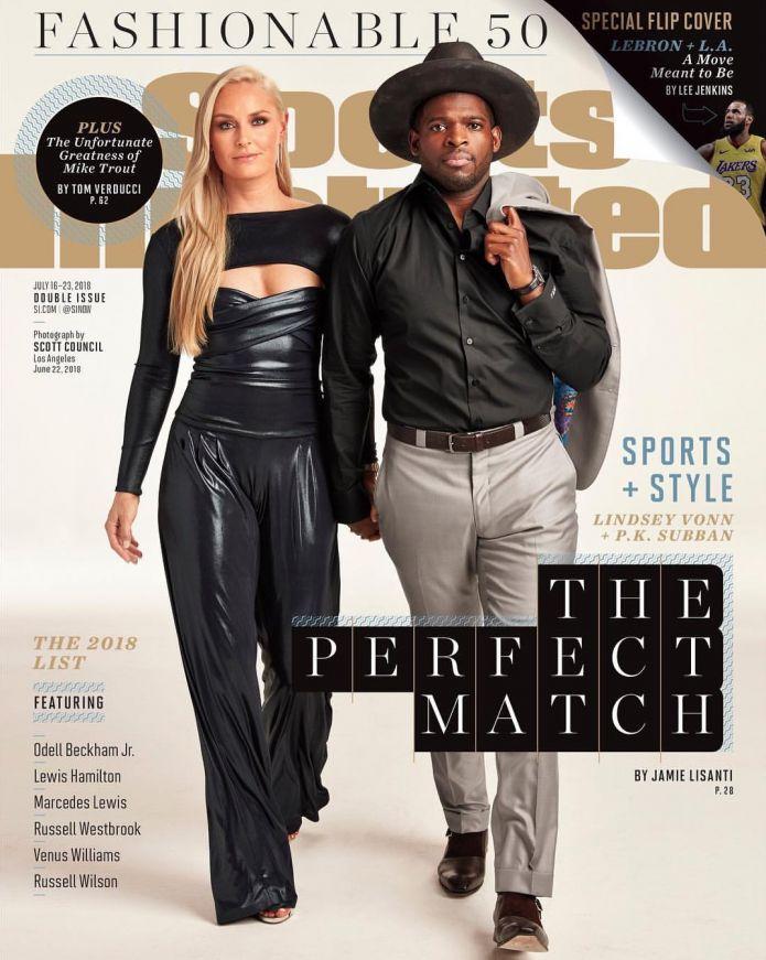 Lindsey Vonn è l'atleta più alla moda del momento