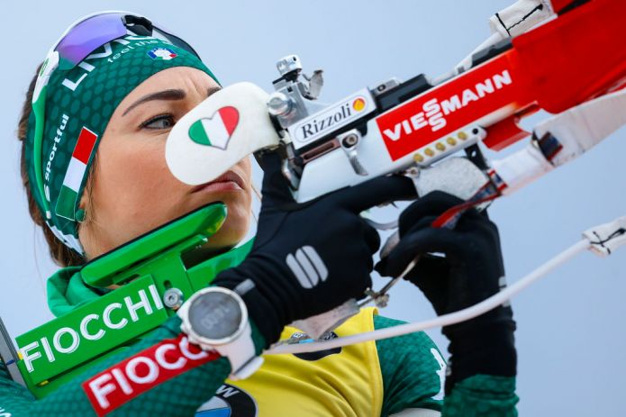 Dorothea Wierer dopo il podio odierno: 'Il bilancio è molto positivo'