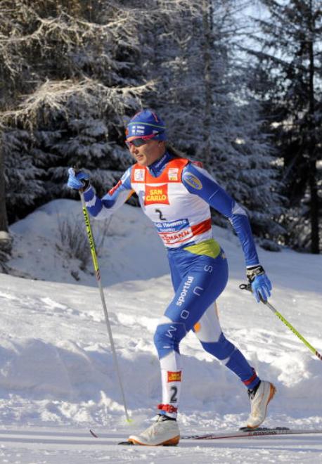 """Virpi Kuitunen : """"Bisognerebbe dare totale libertà agli atleti di interpretare la tecnica classica e imporre tracciati più im"""