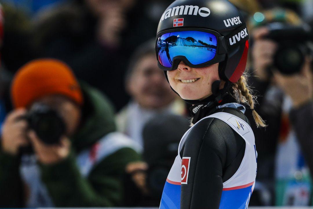 L'opening di Lillehammer sorride a Maren Lundby