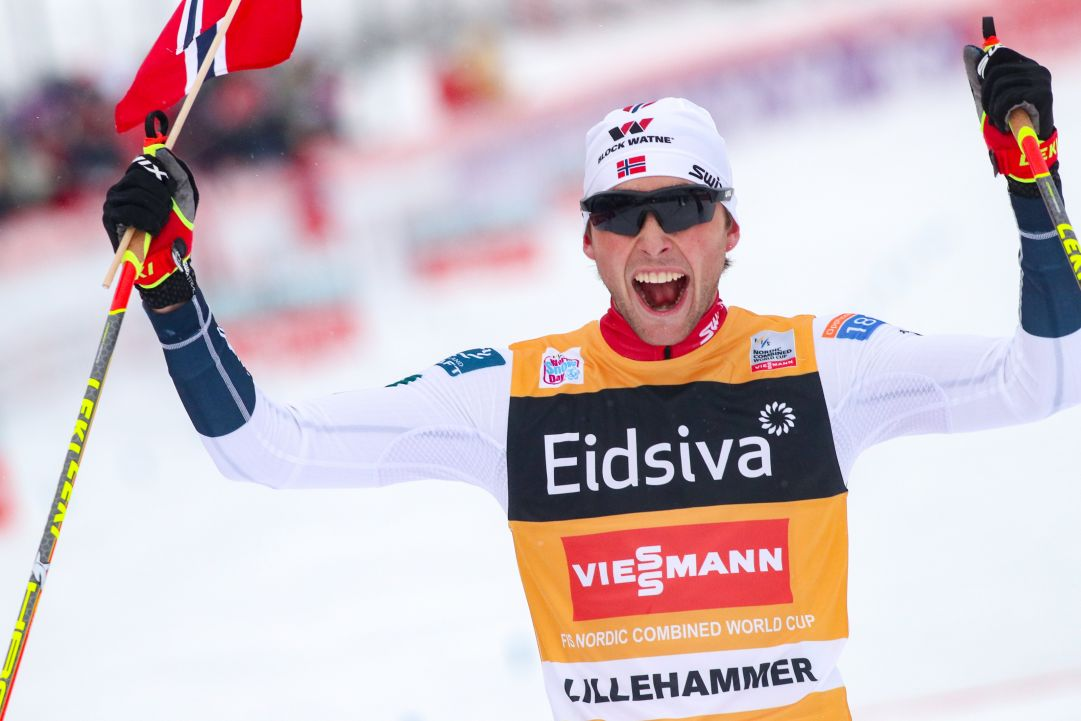 Jarl Magnus Riiber da record in una Lillehammer cupa per la combinata nordica