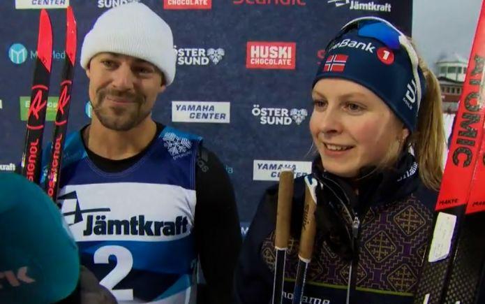 Trionfo norvegese nelle supersprint di Östersund: vittorie per Jensen e Nordlunde; Becchis fuori in semifinale!