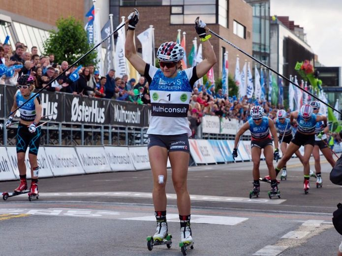 Maiken Caspersen Falla e Sindre Skar trionfano nelle sprint del Blink Festivalen