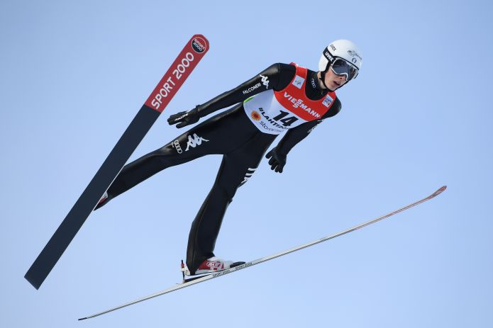 Alex Insam scrive la storia nella qualificazione di Planica. Primo italiano oltre i 230 metri!