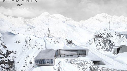 007 Elements: a Sölden apre la nuova installazione cinematografica di James Bond