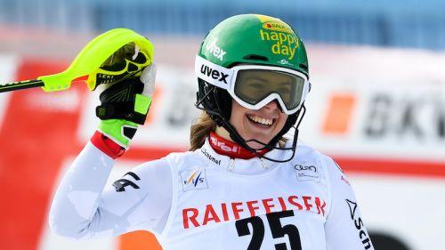 Katharina Liensberger domina il secondo gigante di Zinal di Coppa Europa