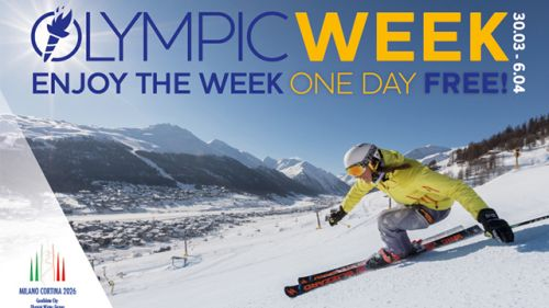 Livigno lancia la Olympic Week dal 30 marzo al 6 aprile