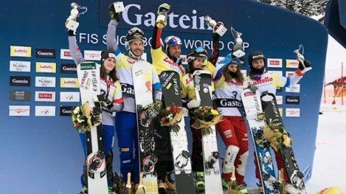 Nadya Ochner e Aaron March secondi nel parallelo a squadre di Coppa del Mondo di Bad Gastein