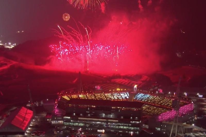 Una commovente cerimonia d'apertura dà il via ai Giochi di PyeongChang 2018