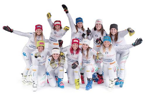 Italia, 9 donne e 10 uomini convocati per i Mondiali di Are