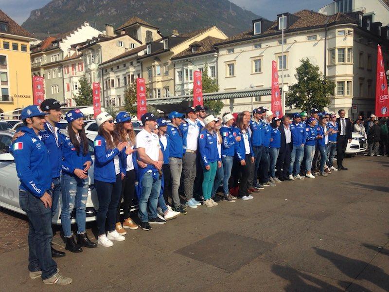 A Bolzano consegnate le Audi ai migliori atleti FISI della scorsa stagione