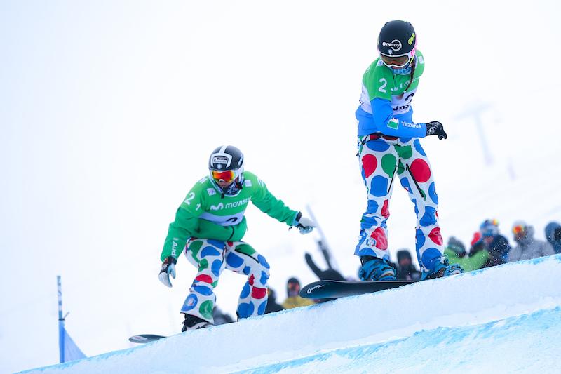L'Italia dello snowboard cross e del parallelo in allenamento atletico a Formia