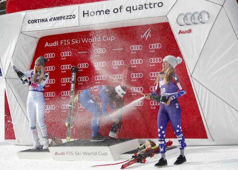Sofia Goggia: 'Ho realizzato due sogni, vincere a Cortina e il pettorale rosso'