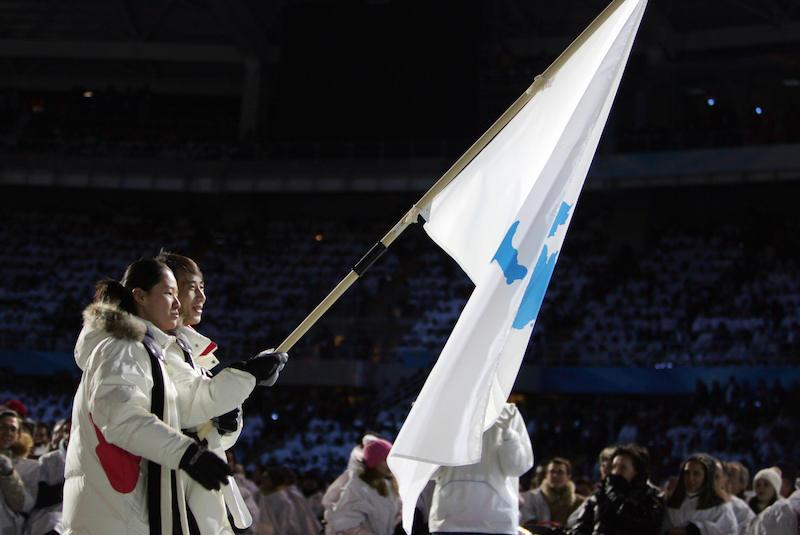 PyeongChang 2018, le due Coree sfileranno sotto la stessa bandiera nella cerimonia d'apertura